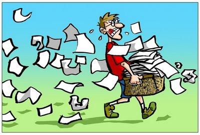 Oud papier wordt WEL opgehaald woensdag!